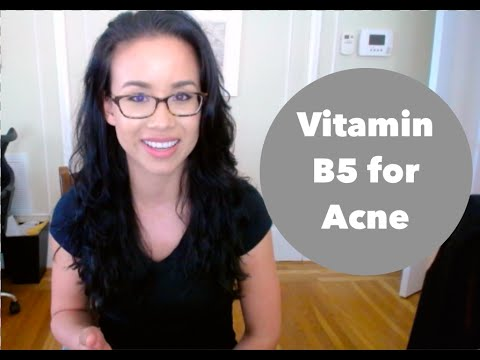 hqdefault - Vitamin B5 To Cure Acne