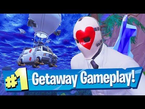 Getaway Mode Gameplay Victory! - Fortnite Battle Royale