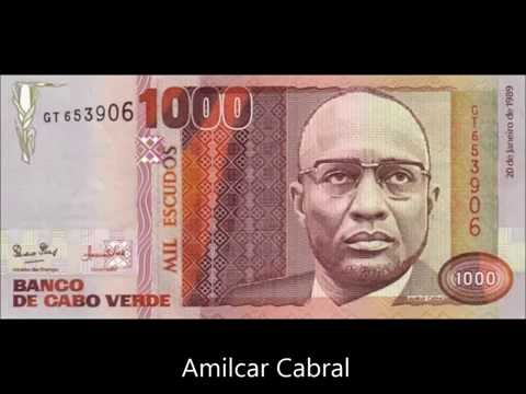 BANNKNOTES CAPE VERDE 1989 CABRAL ISSUE