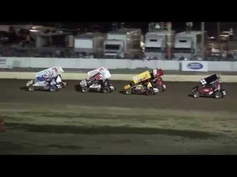 Sprint Invaders Heats 34 Raceway 9/27/14