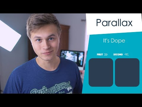 Scroll View Parallax Effect! (Pt 1 | Swift 4 in Xcode)