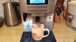 Кофемашина De-Longhi ECAM22 360 S. Первый запуск и настройка