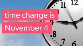 2018 Time Change