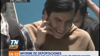 Informe de los guatemaltecos deportados desde Estados Unidos