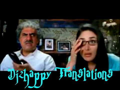 Zoobi Doobi  3 Idiots wTranslation + Lyrics On Screen