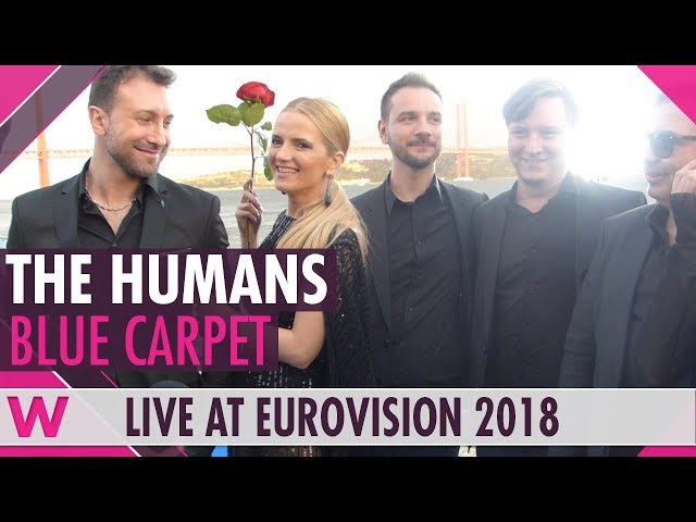 The Humans: Cristina Caramarcu blue carpet engagement reaction (INTERVIEW)