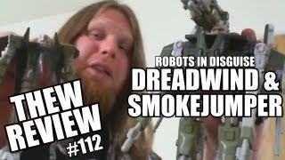 RID Dreadwind & Smokejumper: Thew's Awesome Transformers Reviews #112