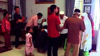 prosesi walimatus safar haji keluarga 1 Bapak Mulyono, Jakarta 01 Okt 2013