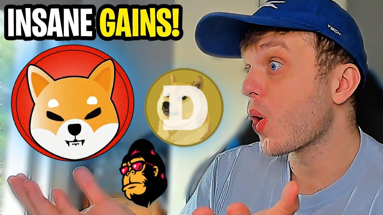 Bitcoin tops $50000 while meme coin Shiba Inu gains 50% in 24 hours
