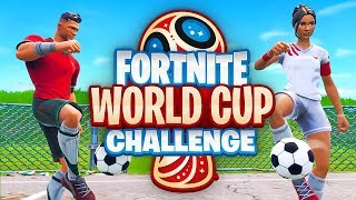 WORLD CUP CHALLENGE in Fortnite