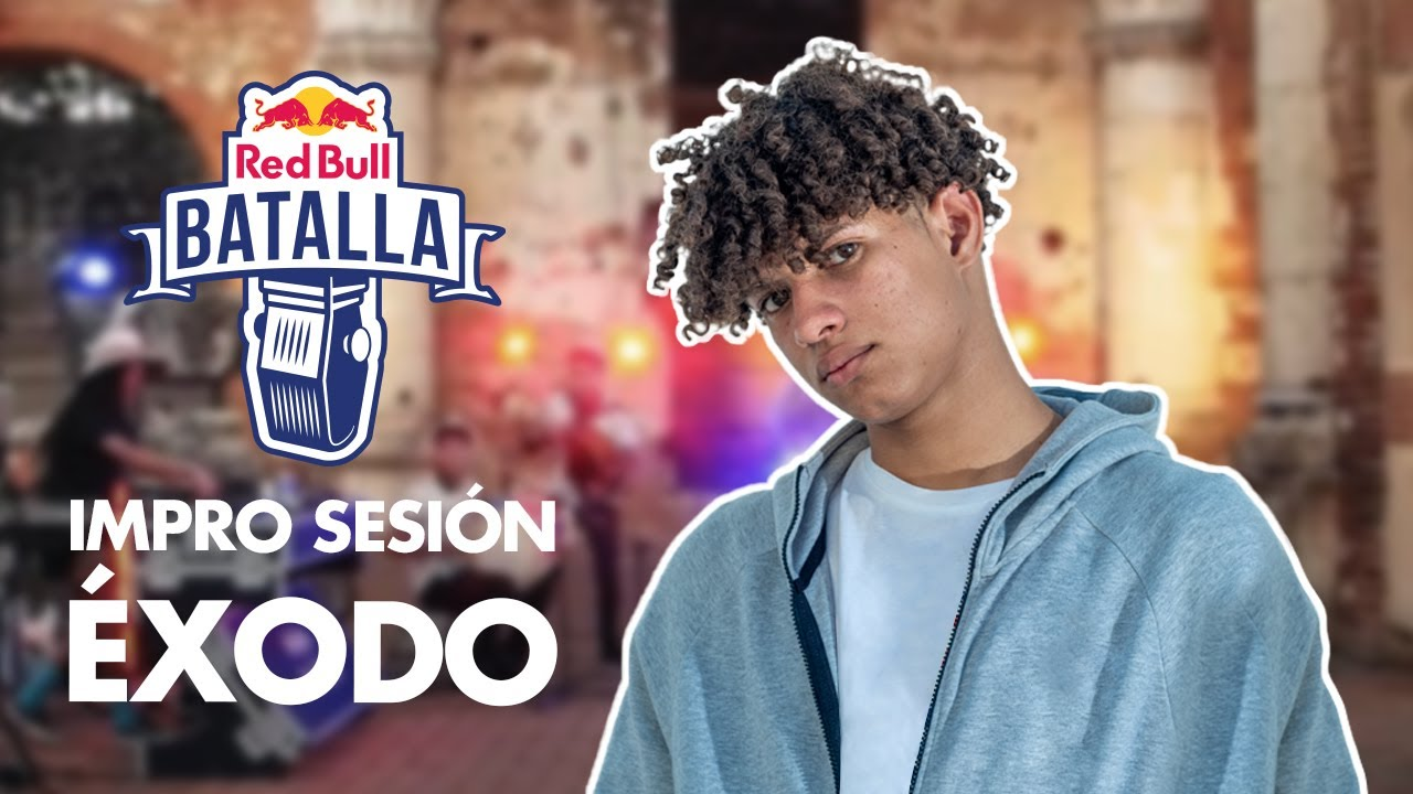 EXODO LIRICAL feat. CHEZ TROPICS | Impro Sesión | Red Bull Batalla