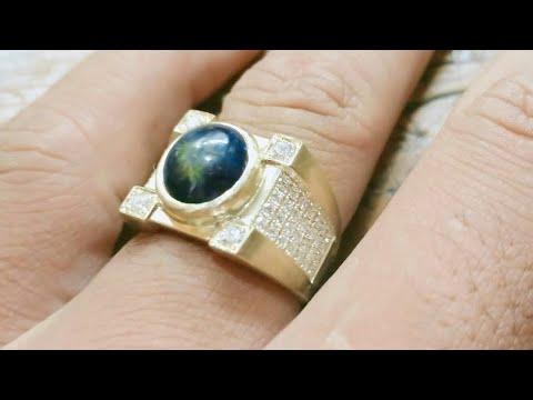 Model Cincin Pria Keren Berlian Terbaru 2019 Emas Putih Oe Jwl Youtube