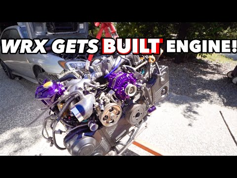 SUBARU WRX PROJECT GETS PREPPED FOR FIRST START! *Closed deck block!*