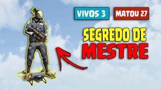 SEGREDO DE MESTRE!! DICA SUPREMA FREE FIRE BATTLEGROUNDS