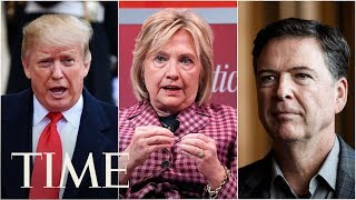 Trump Asked Lawyers To Look Into Prosecuting Hillary Clinton & James Comey, Report Says | TIME