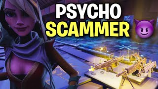 I traded with a PSYCHO Scammer 😈😱 (Scammer Get Scammed) Fortnite Save The World