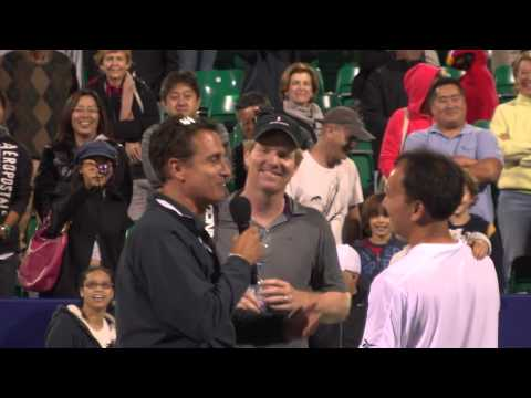 2012- Michael Chang On Court Interview