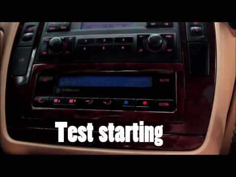 Vw Jetta Air Conditioning Problems >> VW CLIMATRONIC SELF-TEST STEP BY STEP Air conditioning