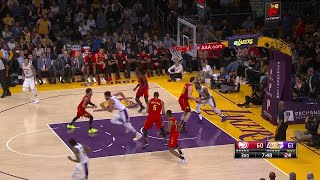 3rd Quarter, One Box Video: Los Angeles Lakers vs. Atlanta Hawks