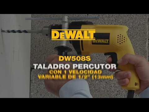 Taladro Percutor 700W JAMPOT DEWALT DW508S
