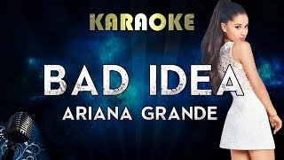 Ariana Grande - bad idea (Karaoke Instrumental)