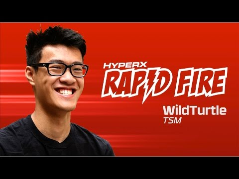 TSM LoL WildTurtle Rapid Fire Questions
