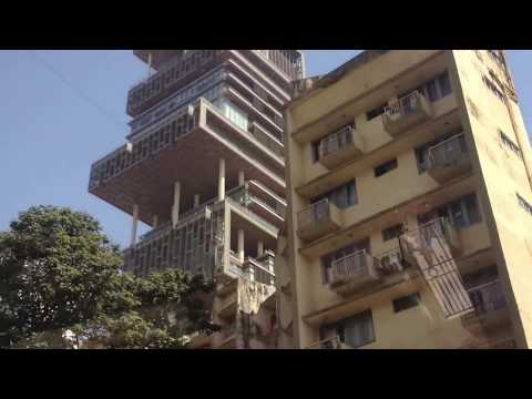 Mukesh Anil Kokilaben Dhirubhai Ambani House Bombay - World Most Expensive House