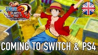 One Piece: Unlimited World Red - Deluxe Edition - PS4/SWITCH/PC - Coming to Switch & PS4