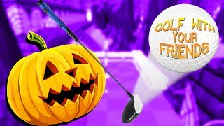 Halloween in July! - Golf With Your Friends Gameplay - Custom Levels