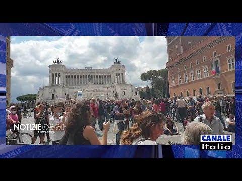 «Marcia su Roma» contro il Governo, tensione in centro. | Notizie Oggi Lineasera