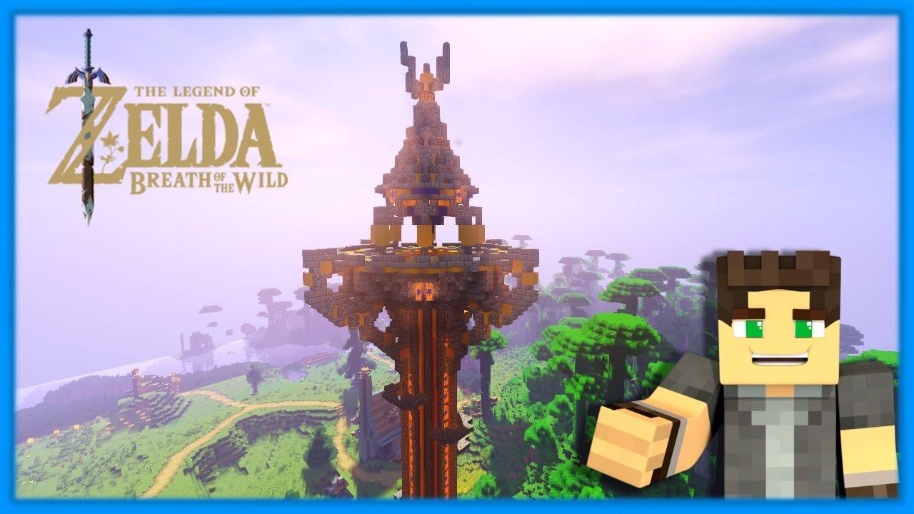 Minecraft Map Zelda Breath Of The Wild - Muat Turun 0