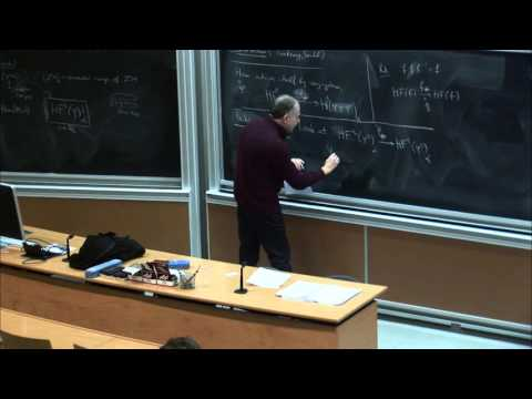 Leonid Polterovich: Persistence modules and Hamiltonian diffeomorphisms - Part 4