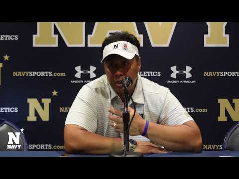 Navy Football vs  Air Force: Post Game Press Conference