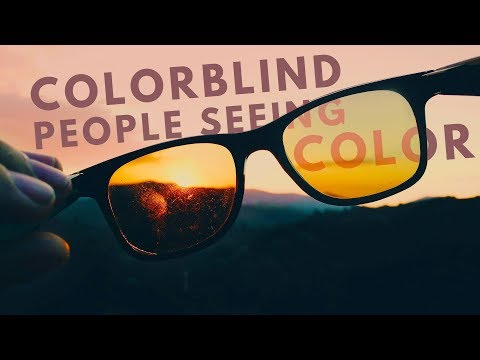 Colorblind people seeing color for the first time! (Enchroma Glasses Compilation)