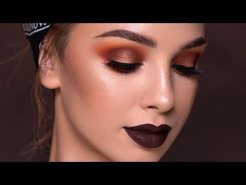 Fall Makeup Tutorial – Bold Vampy Glam 2017