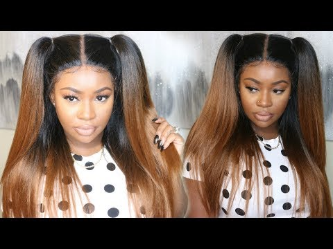Outre Vixen Blowout Straight Lace Front Wig   Sams Beauty