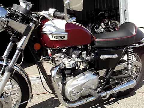 Sold76 Triumph Bonneville T140v 750cc For Sale Youtube