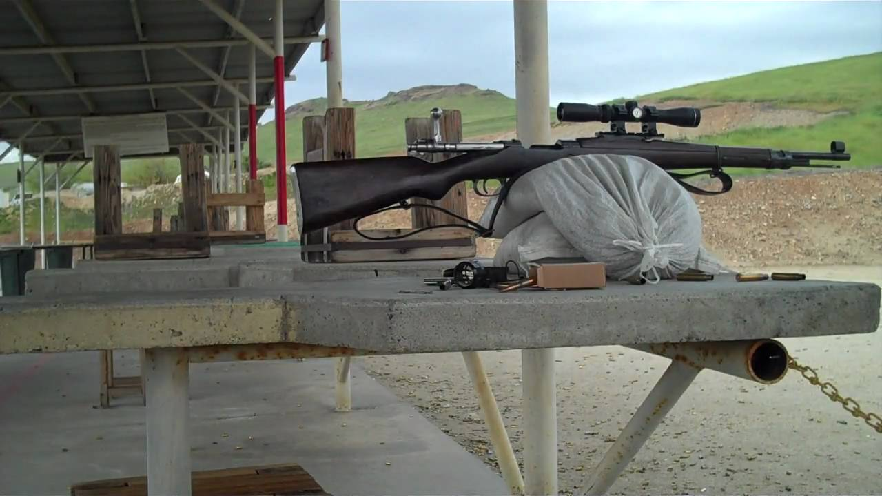 Making groups with my M24/47 with Scout Scope