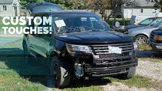 Rebuilding A Wrecked 2017 Ford Police Interceptor Utility -- Part 12