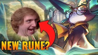 NEW RUNE GIVES YUUMI PERMA +15% DAMAGE?! and it's not even a keystone