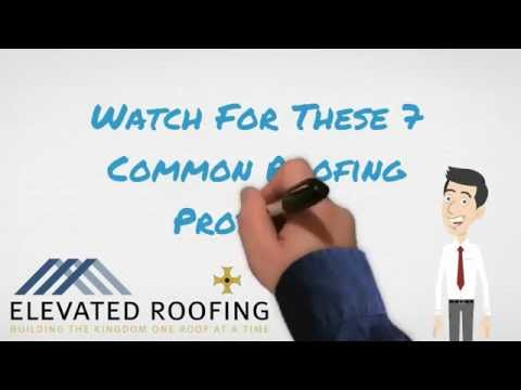 Watch For These Common Roofing Problems by Elevated Roofing Frisco, TX