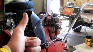 toro 524 snow Blower repair