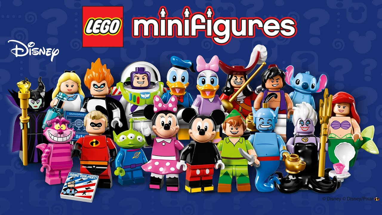 lego disney minifigures series 1 opening lego 71012 youtube. Black Bedroom Furniture Sets. Home Design Ideas