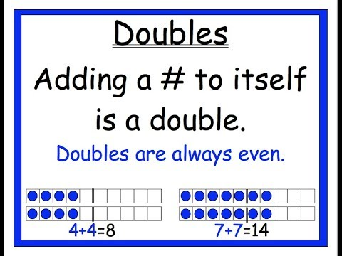 Use Double Facts - Lesson 3.1 (Go Math!) - YouTube