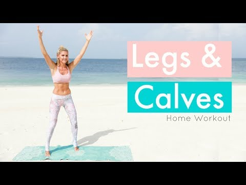 Calves and Legs Workout - 10 MINUTE SLIM | Rebecca Louise