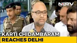 """""""Attempt To Silence P Chidambaram,"""" Says Son Karti On Father's Arrest"""