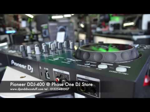 Pioneer DJ DDJ 400 @ Phase One