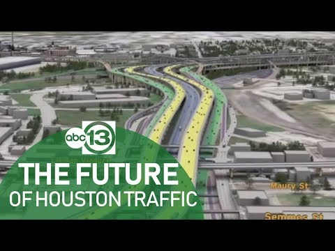 Starting this year, Houston freeways will look a lot different