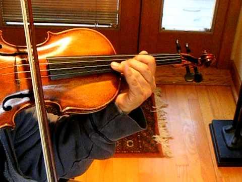 CHOPIN NOCTURNE Op. 9, No. 2, VIOLIN SOLO SOUND SAMPLE, Very Fine German Violin, Eboyinc, Violinist