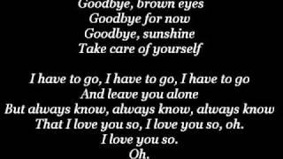 Goodbye - Avril Lavgine (lyrics)